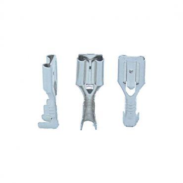 Pigistatav avatava lukuga otsaklemm, emane 6.3mm; AWG 22-16; 0,5-1,5mm2